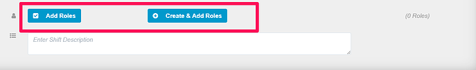 KB shift roles