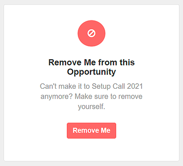 remove opp