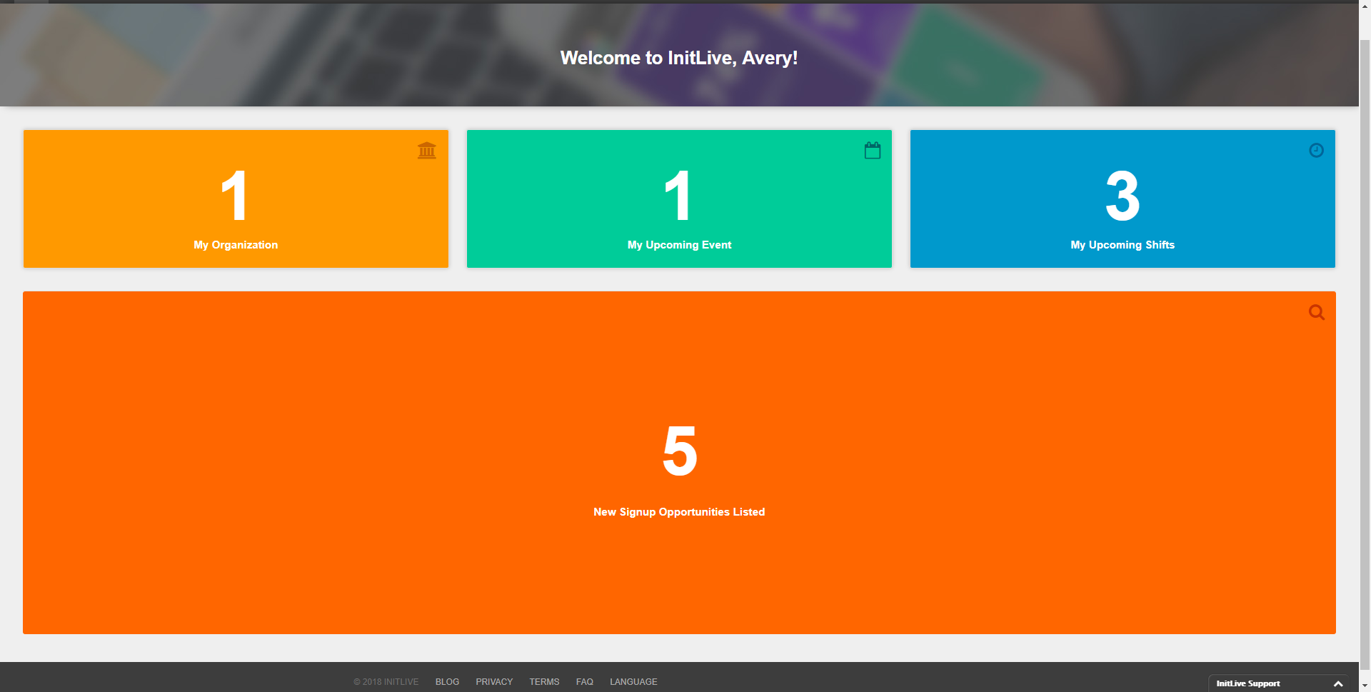 Universal Homepage