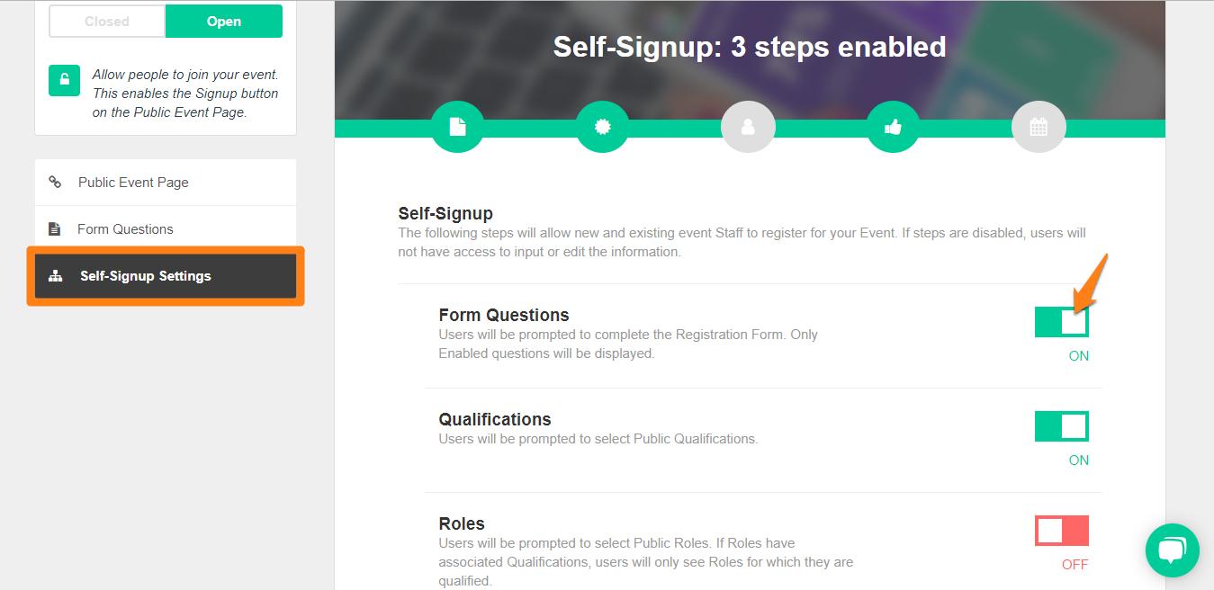 self-signup