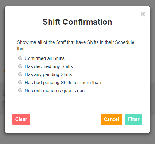shift-confirmation-filters