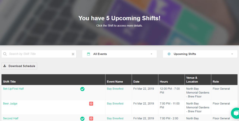 upcoming-shifts